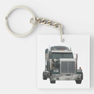 Truck Tractor Key Chain Acrylic Key Chains