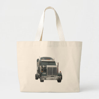 Truck tractor large tote bag
