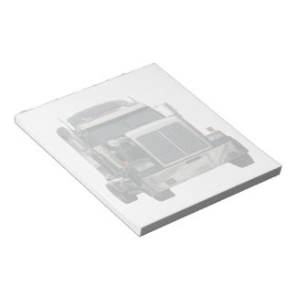 Truck tractor Notepad