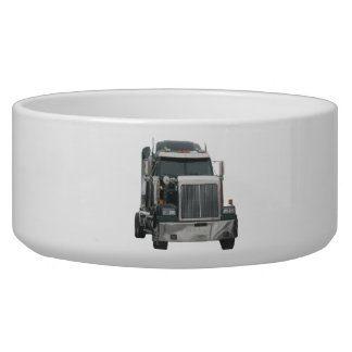 Truck tractor Pet Bowl (2) sizes