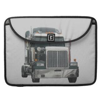 Truck tractor Rickshaw Flap Sleeve Sleeve For MacBook Pro