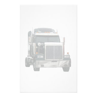 Truck tractor stationery