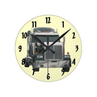 Truck Tractor Wall Clock