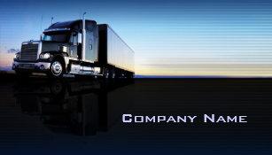 Truck Transport Business Card Arts Arts
