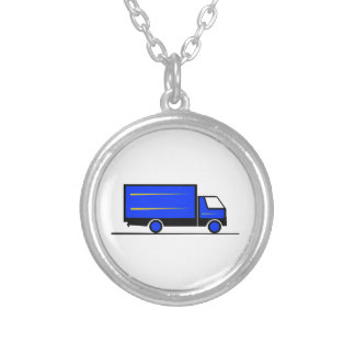 Truck - Truck (01) Silver Plated Necklace