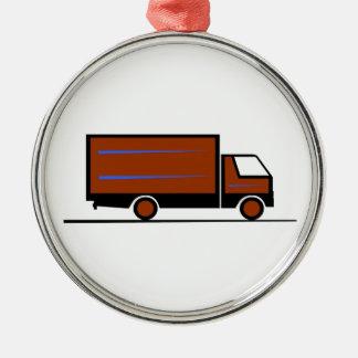 Truck - Truck (03) Metal Ornament