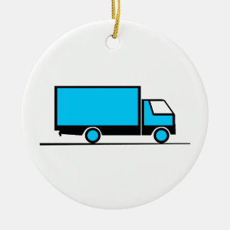 Truck - Truck (05) Ceramic Ornament
