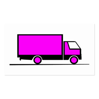 Truck - Truck (06) Double-Sided Standard Business Cards (Pack Of 100)