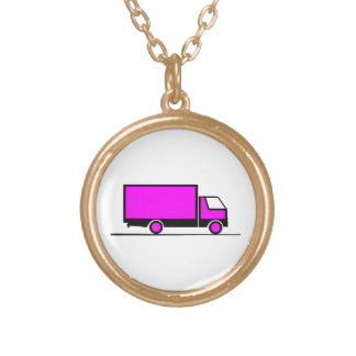 Truck - Truck (06) Gold Plated Necklace