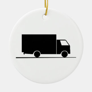 Truck - Truck (08) Ceramic Ornament