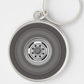 Truck Wheel And Tire Keychains