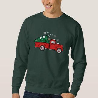 Truck with Christmas Tree Sweatshirt