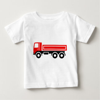 Truck with dump truck tees