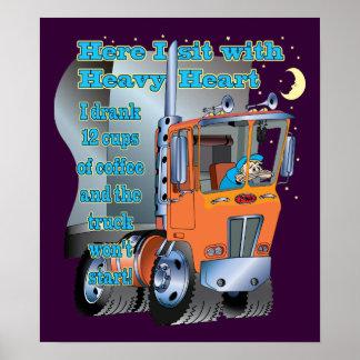 Truck Won't Start Poster