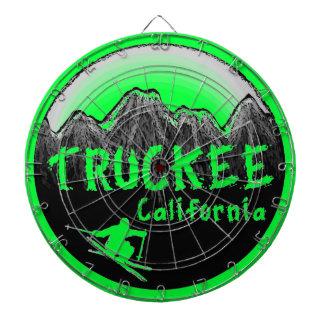 Truckee California artistic skier Dartboard