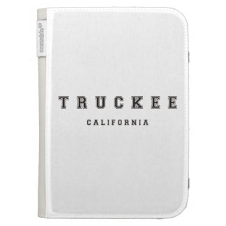 Truckee California Kindle 3 Cases