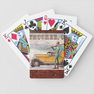 Truckee California Mural 2012 Poker Cards