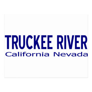 Truckee River Shirts & Stuff Postcard