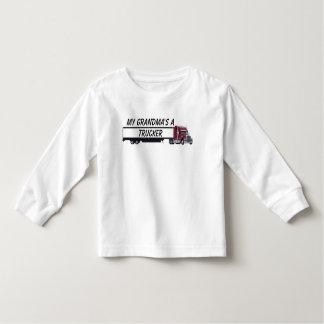 trucker-1, My Grandma's a Trucker Toddler T-shirt