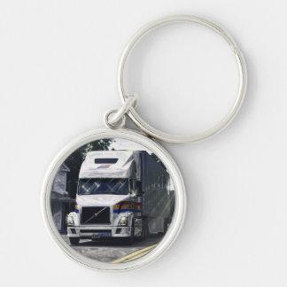 Trucker Big Rig Designs for Truck-lovers Keychain