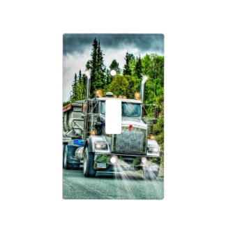 Trucker Big Rig Designs for Truck-lovers Light Switch Cover