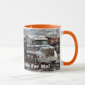 Trucker Big Rig Designs for Truck-lovers Mug