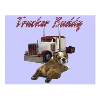 Trucker Buddy Postcard