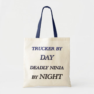 TRUCKER BY DAY TOTE BAG