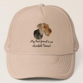 "Trucker cap ""Airedale Terrier! 01"