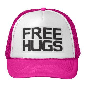 Trucker cap free hugs trucker hat