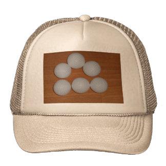 TRUCKER CAP - GOLF BALLS TRUCKER HAT