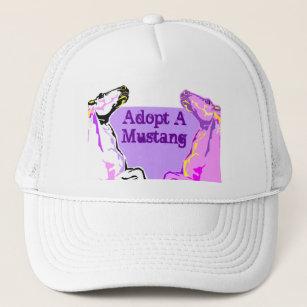 1cb0064ca85 Trucker cap HAT~ Wild Mustangs Horses Stock Ranch