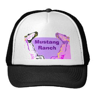 Trucker cap HAT~ Wild Mustangs Horses Stock Ranch Trucker Hat