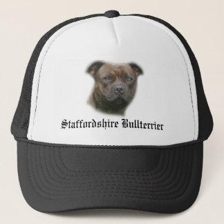Trucker Cap, Staffordshire bull terrier Trucker Hat