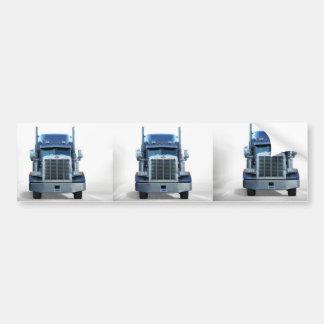 trucker car bumper sticker