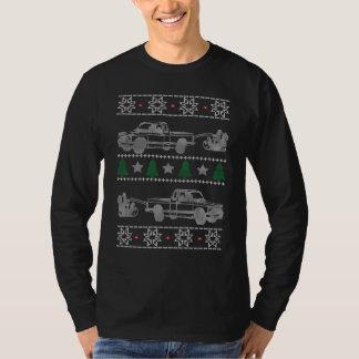 Trucker Christmas T Shirt