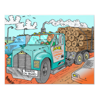 Trucker Gifts Card