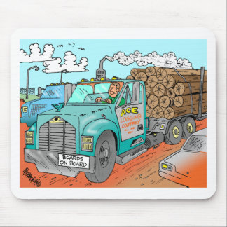 Trucker Gifts Mouse Pad