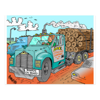 Trucker Gifts Postcard
