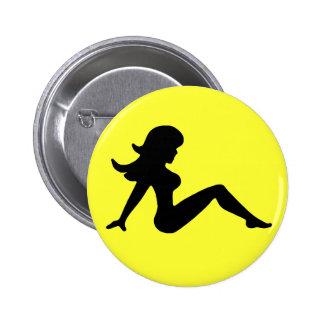 Trucker Girl Button