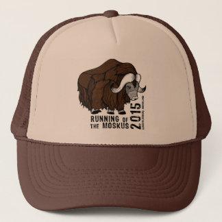 Trucker Hat- 2015 Running of the Moskus Trucker Hat