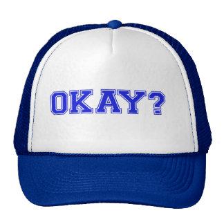 TRUCKER HAT ALF OKAY - BLUE