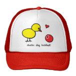 Trucker Hat - Chicks Dig Kickball
