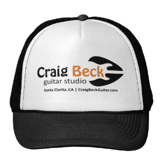 Trucker Hat | Craig Beck Guitar Studio