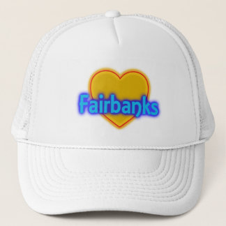 Trucker Hat Fairbanks Alaska AK Golden Heart City