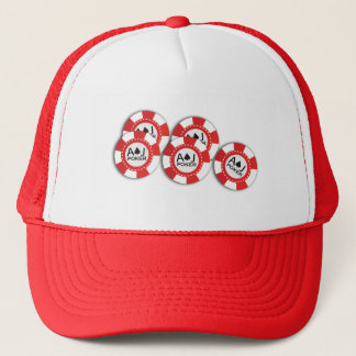Trucker hat for Action Junkies