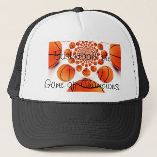 Trucker Hat for Basketball Drivers