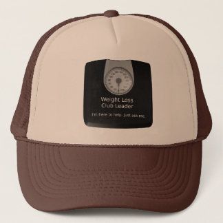 Trucker Hat For Weight Loss Club Leaders