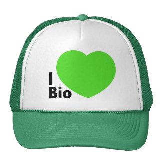 Trucker Hat i love bio