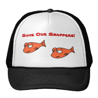 Trucker Hat - Orange Snappers